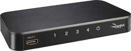 Best Buy Weekly Ad: Rocketfish 4-Port HDMI Switch for $49.99