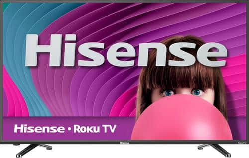 "Best Buy Weekly Ad: Hisense - 50"" Class LED 1080p Smart HDTV (Roku TV) for $299.99"