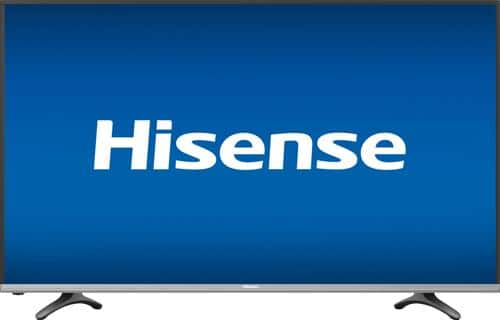 "Best Buy Weekly Ad: Hisense - 50"" Class LED 4K Ultra HD Smart TV with High Dynamic Range for $399.99"