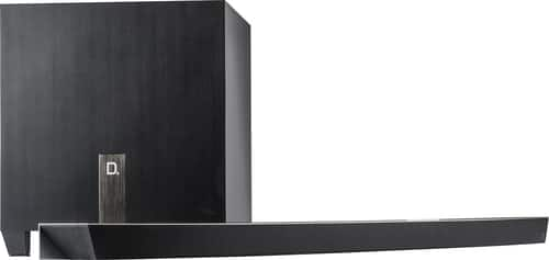 """Best Buy Weekly Ad: Definitive Technology WMicro 3.1-Ch. Soundbar and 8"""" Wireless Subwoofer for $499.98"""