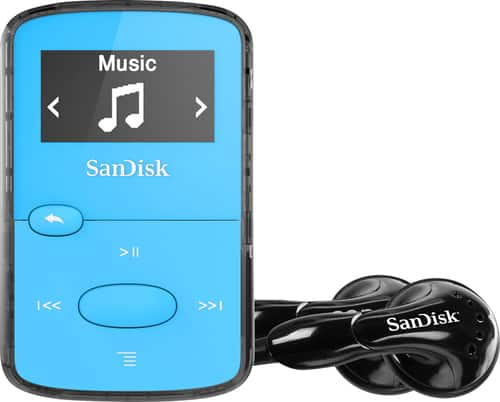 Best Buy Weekly Ad: SanDisk 8GB Clip Jam MP3 Player - Blue for $29.99