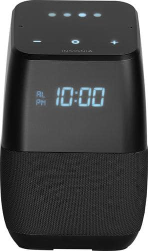 Best Buy Weekly Ad: Insignia Voice Smart Bluetooth Speaker with LED Display - Black for $69.99