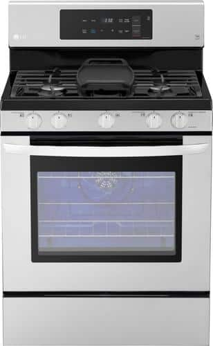 Best Buy Weekly Ad: LG - 5.4 cu. ft. Gas Convection Range for $989.99