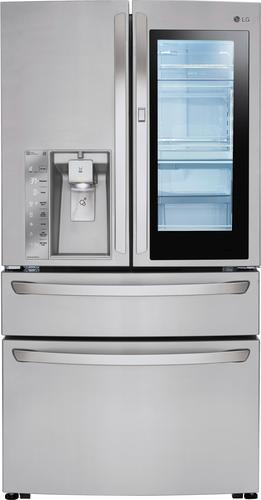 Best Buy Weekly Ad: LG - InstaView Door-in-Door 29.7 cu. ft. 4-Door French Door Refrigerator for $3,779.99