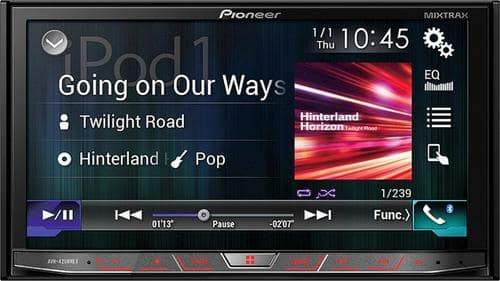 "Best Buy Weekly Ad: Pioneer 7"" In-Dash CD/DVD/DM Receiver for $499.99"