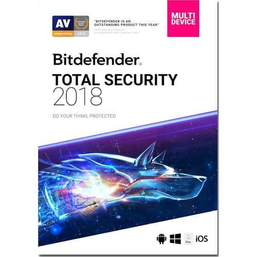 Best Buy Weekly Ad: Bitdefender Total Security 2018 - 5 Devices for $48.99