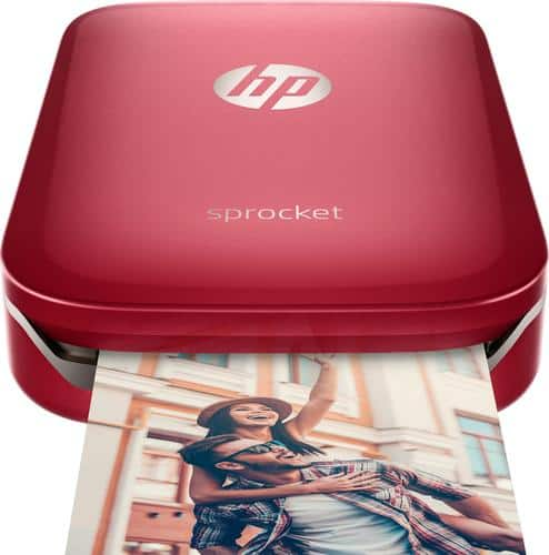 Best Buy Weekly Ad: HP Sprocket Photo Printer - Red for $129.95