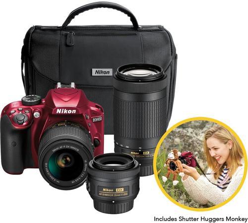 Best Buy Weekly Ad: Nikon D3400 Triple Lens Parent's DSLR Camera Kit for $669.99