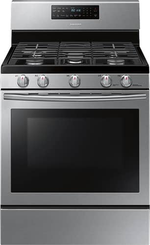 Best Buy Weekly Ad: Samsung - 5.8 cu. ft. Gas Convection Range for $888.99