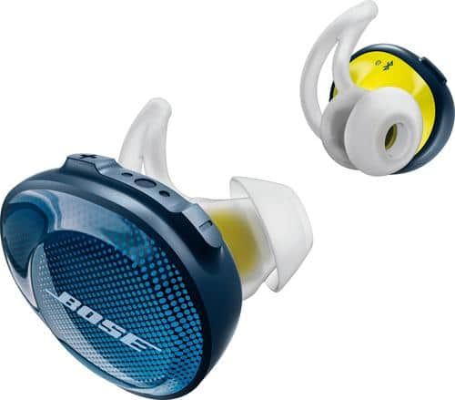 Best Buy Weekly Ad: Bose SoundSport Free Wireless Headphones - Blue for $249.99