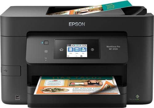 Best Buy Weekly Ad: Epson WorkForce Pro WF-3720 Wireless All-in-One Printer for $89.99