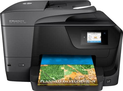 Best Buy Weekly Ad: HP OfficeJet Pro 8710 Wireless Printer for $119.99