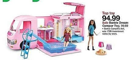 Target Weekly Ad: Barbie Dream Camper Playset for $94.99