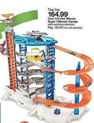 Target Weekly Ad: Hot Wheels Super Ultimate Garage Playset for $164.99