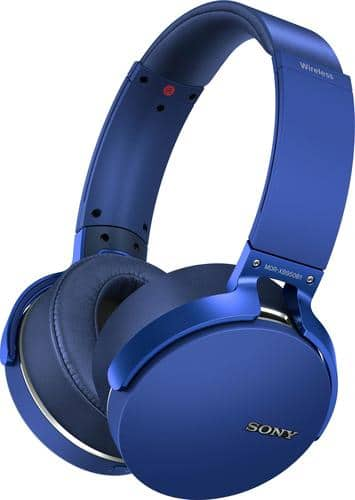 Best Buy Weekly Ad: Sony XB950B1 Extra Bass Wireless Headphones - Blue for $89.99