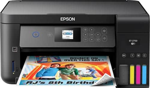 Best Buy Weekly Ad: Epson Expression ET-2750 EcoTank Printer for $229.99