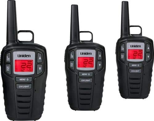 Best Buy Weekly Ad: Uniden - GMRS 30-Mile, 22-Channel GMRS 2-Way Radios - Black for $39.99