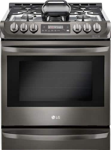 Best Buy Weekly Ad: LG - 6.3 cu. ft. Gas Slide-In Convection Range for $1,699.99