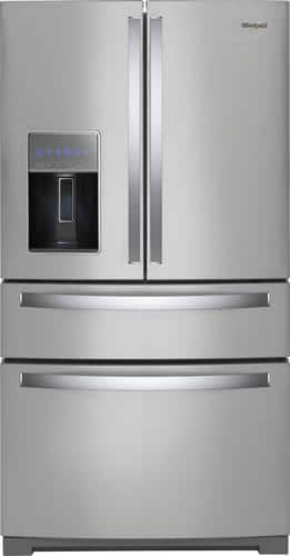 Best Buy Weekly Ad: Whirlpool - 26.2 cu. ft. 4-Door French Door Refrigerator for $2,399.99
