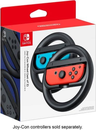 Best Buy Weekly Ad: Joy-Con Wireless Wheel (Set of 2) for Nintendo Switch for $14.99