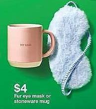 Target Weekly Ad: Stoneware Hey Sugar Mug 10.3oz Pink - Threshold for $4.00