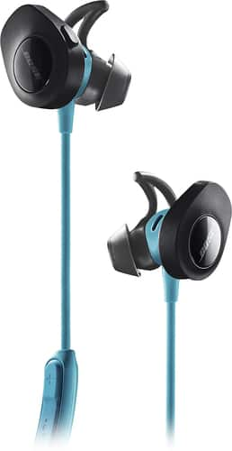 Best Buy Weekly Ad: Bose SoundSport Wireless In-Ear Headphones - Aqua for $129.99