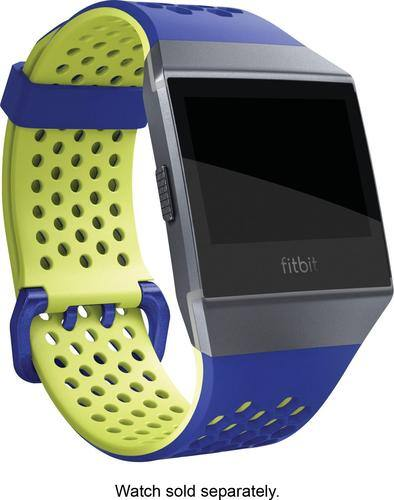 Best Buy Weekly Ad: Fitbit Ionic Sport Band Cobalt & Lime for $29.99