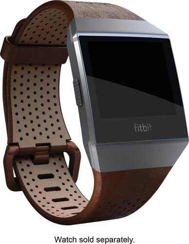 Best Buy Weekly Ad: Fitbit Ionic Leather Band Cognac for $59.99