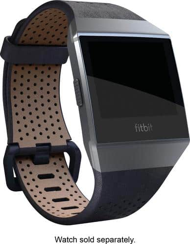 Best Buy Weekly Ad: Fitbit Ionic Leather Band Midnight Blue for $59.99