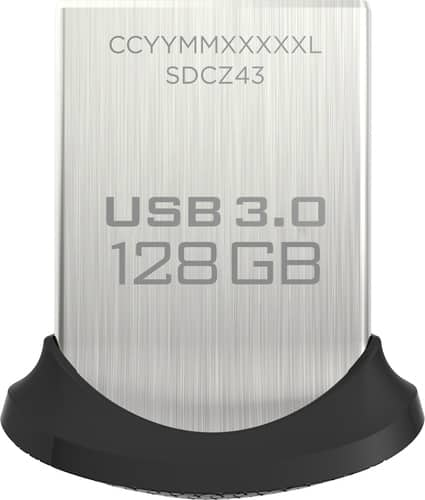 Best Buy Weekly Ad: SanDisk 128GB Ultra Fit USB 3.0 Flash Drive for $32.99