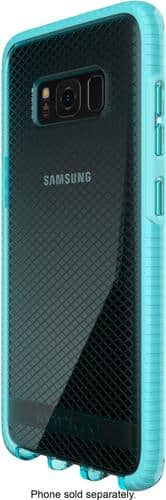 Best Buy Weekly Ad: Tech21 - Evo Check Case for Galaxy S8  - Light Blue/White for $19.99