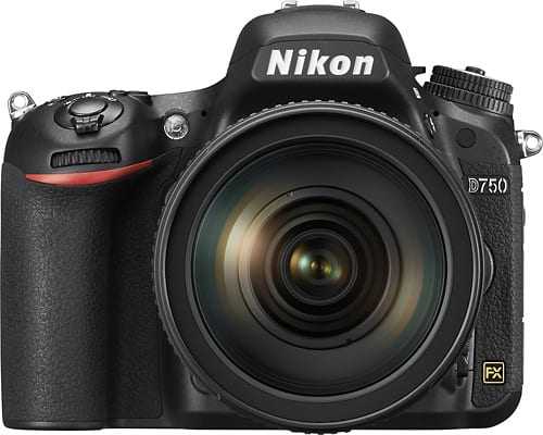 Best Buy Weekly Ad: Nikon D750 with 24-120mm Lens for $1,999.99