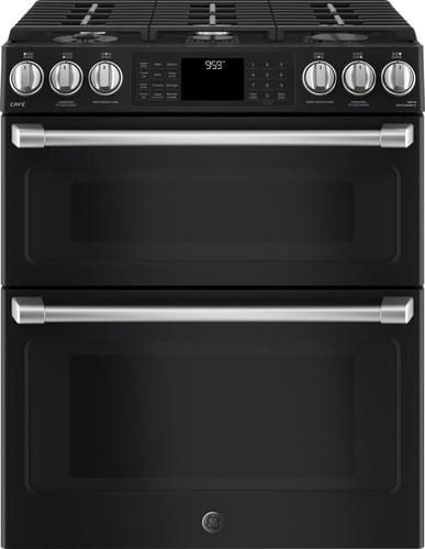 Best Buy Weekly Ad: GE - 6.7 cu. ft. Gas Slide-In Double Oven Convection Range for $3,059.99