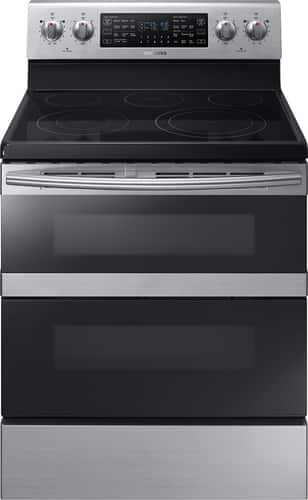 Best Buy Weekly Ad: Samsung - 5.9 cu. ft. Electric Dual-Door Convection Range for $1,099.99