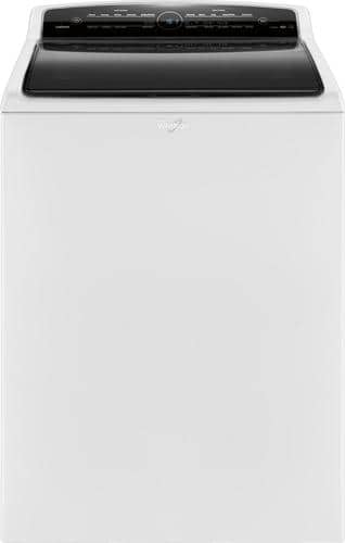 Best Buy Weekly Ad: Whirlpool - 4.8 cu. ft. 26-Cycle High-Efficiency Steam Top-Loading Washer for $499.99
