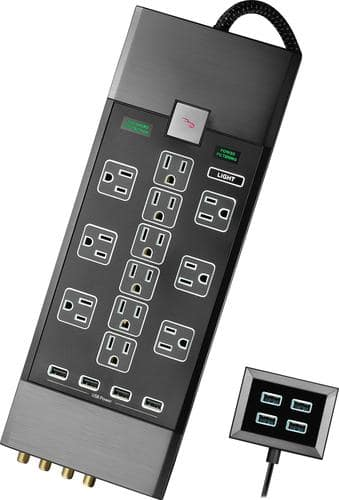 Best Buy Weekly Ad: Rocketfish Premium 12-Outlet Power Center for $99.99