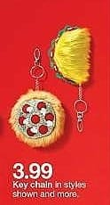 Target Weekly Ad: Kids' Taco Keychain for $3.00