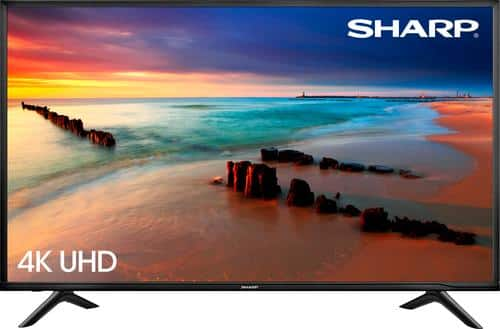 """Best Buy Weekly Ad: Sharp - 60"""" Class LED 4K Ultra HD Smart TV for $599.99"""