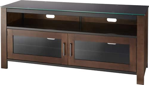 "Best Buy Weekly Ad: Insignia Mocha TV Stand for Most TVs Up to 60"" for $249.99"