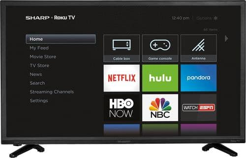 "Best Buy Weekly Ad: Sharp - 32"" Class LED 720p Smart HDTV (Roku TV) for $169.99"