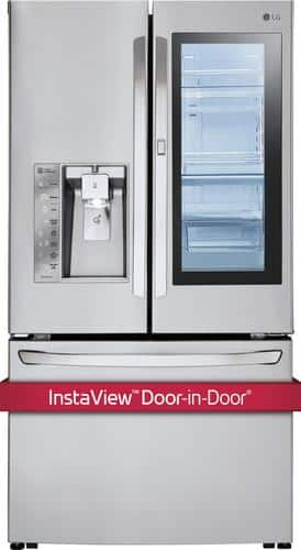 Best Buy Weekly Ad: LG - InstaView Door-in-Door 29.6 cu. ft. French Door Refrigerator for $2,799.99