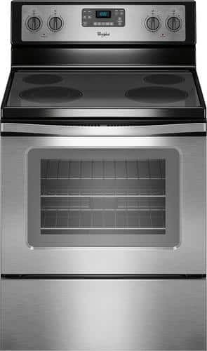 Best Buy Weekly Ad: Whirlpool - 5.3 cu. ft. Electric Range for $479.99
