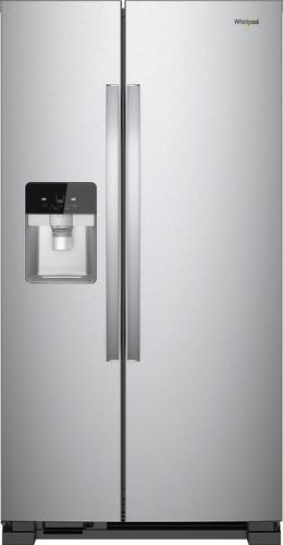 Best Buy Weekly Ad: Whirlpool - 24.6 cu. ft. Side-by-Side Refrigerator for $1,049.99