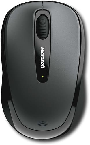 Best Buy Weekly Ad: Microsoft 3500 Wireless Mobile Mouse - Loch Ness Gray for $12.99