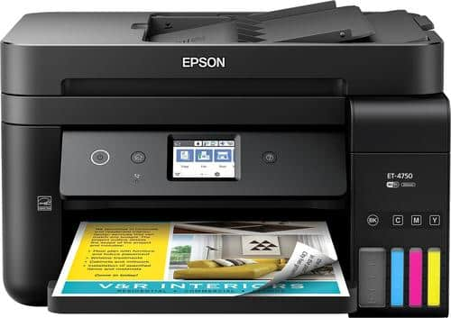 Best Buy Weekly Ad: Epson WorkForce EcoTank ET-4750 Printer for $399.99