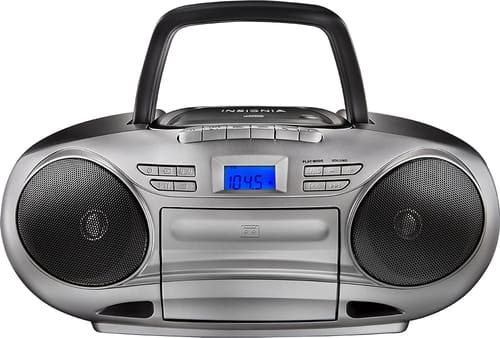 Best Buy Weekly Ad: Insignia CD/Cassette Boombox with AM/FM Radio for $44.99