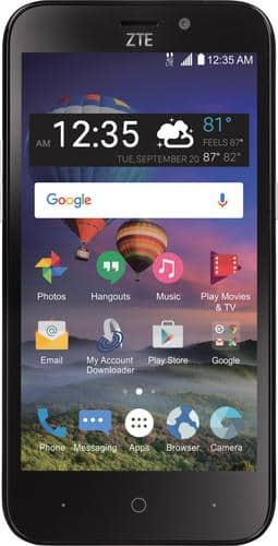 Best Buy Weekly Ad: Simple Mobile ZTE ZFive 2 for $29.99