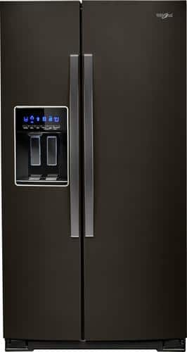Best Buy Weekly Ad: Whirlpool - 28.4 cu. ft. Side-by-Side Refrigerator with Thru-the-Door Ice and Water for $1,399.99