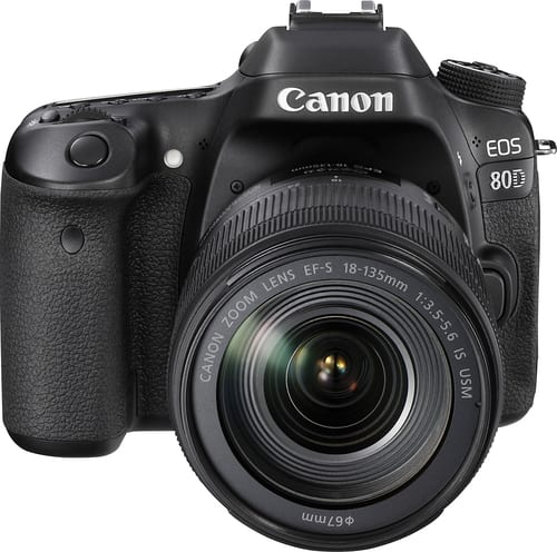 Best Buy Weekly Ad: Canon EOS 80D DSRL Camera with 18-135mm Lens for $1,499.99