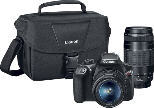 Best Buy Weekly Ad: Canon EOS Rebel T6 2 Lens DSLR Camera Kit for $499.99